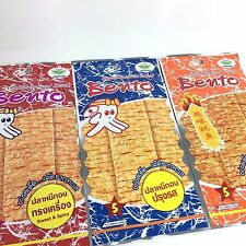 5 G BENTO SQUID THAI SEAFOOD SNACK CHILL ROAST SWEET SPICY FLAVOR