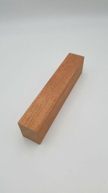 3 × Mahogany Hobby Supply Project Material Lumber Wood Block 5 × 1.3//4 × 1.3//4