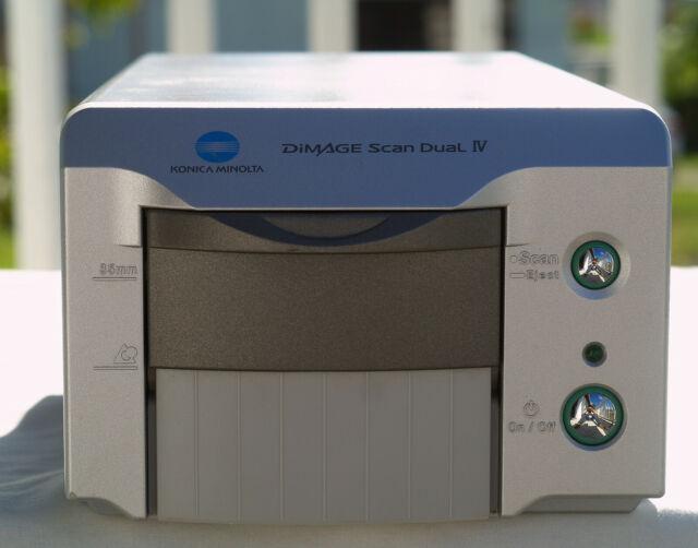 Konica Minolta Dimage Scan Dual IV Scanner