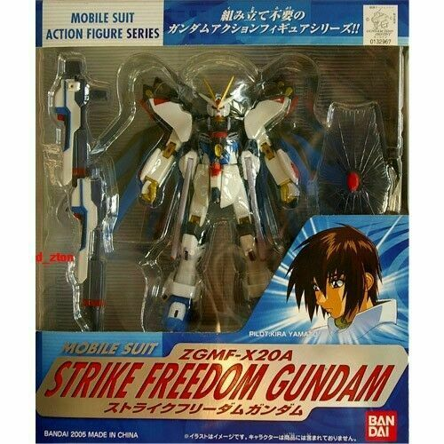 Bandai Mobile Suit Gundam MSIA Seed Destiny Strike Freedom Action Figure