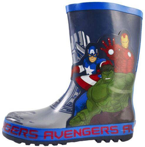 MARVEL Avengers Stivali in Gomma Iron Man Hulk Stivali Di Gomma Stivali Da Neve Misura