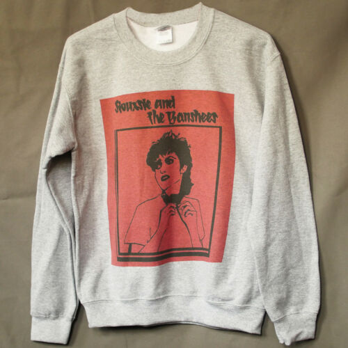 SIOUXSIE AND THE BANSHEES PUNK ROCK JUMPER clash damned SWEATSHIRT GREY S-3XL