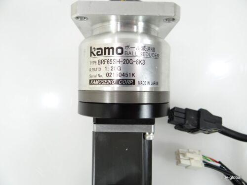 BRF65SH-20G-8K3 1:20G Kamoseiko Ball Reducer HC-KFS13B 100WMITSUBISHIServo Motor