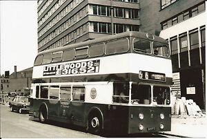 Black-amp-White-Photo-Nottingham-City-Transport-68-Daimler-CRG6LX-68-RTO