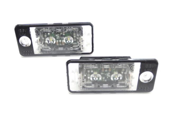 Original Audi A4 8E B6 B7 / A6 4F LED Kennzeichenbeleuchtung Kennzeichenleuchten