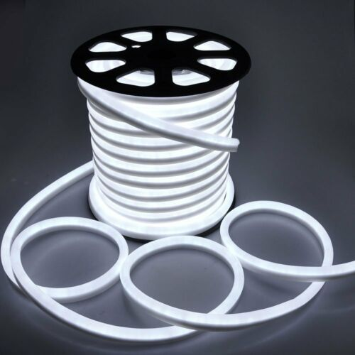 150/' Commercial LED Neon Rope Light Flex Tube Sign Decorative Outdoor Party//Home