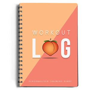 and Training Diary Workout Log Gym XL A5 Gym Set Goals Track 100 Fitness