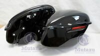 1994-2003 Black Hard Saddlebags Fit Harley Sportster 883 1200 Xl Factory Style