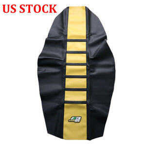 Swell Details About Universal Vinyl Gripper Seat Cover For Suzuki Rmz 250 Rm85 Drz 400 Rm125 Rm250 Cjindustries Chair Design For Home Cjindustriesco