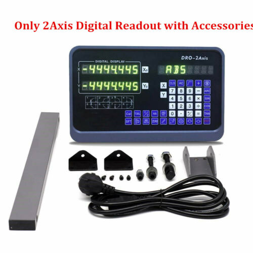 "2//3 Axis High Precision Digital Readout 1μm 0.0001/"" TTL Linear Scale Encoder Kit"