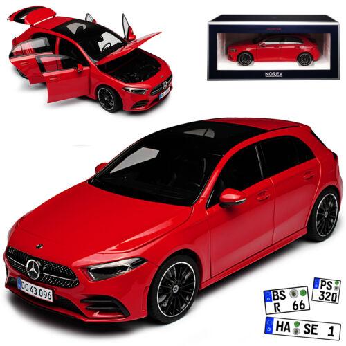 Mercedes-benz a-clase w177 rojo a partir de 2017 1//18 norev modelo coche con o sin ind