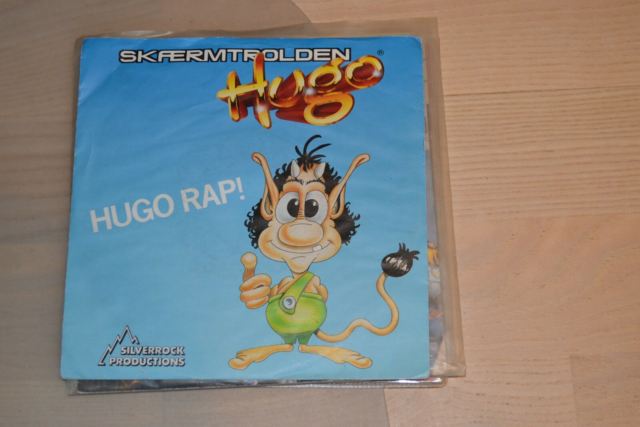 Single, Skærmtrolden Hugo, Skærmtrolden Hugo. Hugo…