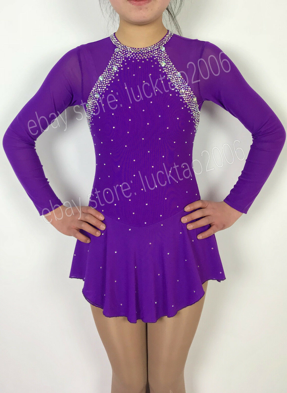 New style Figure skating Ice Skating Dress Gymnastics Costume S129-1