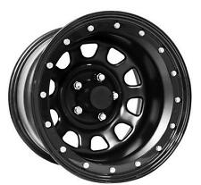 Pro Comp Steel Wheels Series 252 D-Window, 15x10 with 5 on 4.5 Bolt Pattern - F