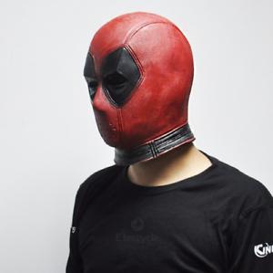 DeadPool Halloween Mask Marvel Superhero Mask Latex Costume ...