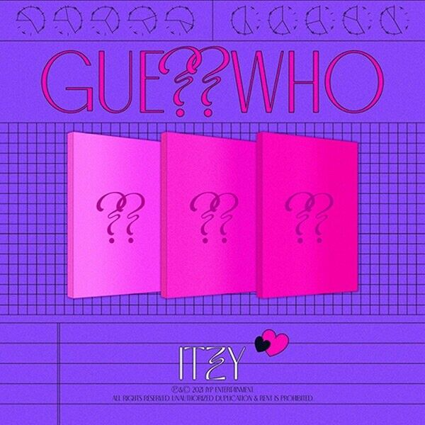 [ ITZY - GUESS WHO ] Album SEALED CD + Photobook + Photocard+ etc +Free Shipping