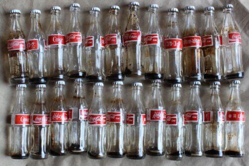 Chile 24 Mini Bottle Glass Coca Cola Countries series