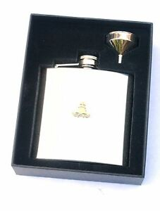 Royal Artillery Regiment 6oz Hip Flask Military FREE ENGRAVING Gift BGK57 501hv5e4-09113528-578595810