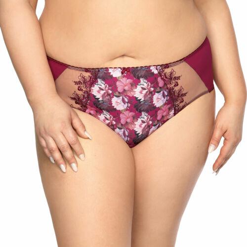Gaia Damen  Slip Unterhose Unterwäsche geblümt 816P Margaret