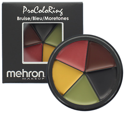 Mehron Pro Color Ring Bruise Wheel Fx Special Effect