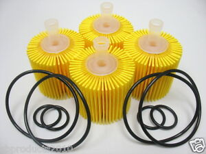 OF5608-TOYOTA-LEXUS-OIL-FILTER-CAMRY-SIENNA-ES350-RX350-BOX-OF-4PCS