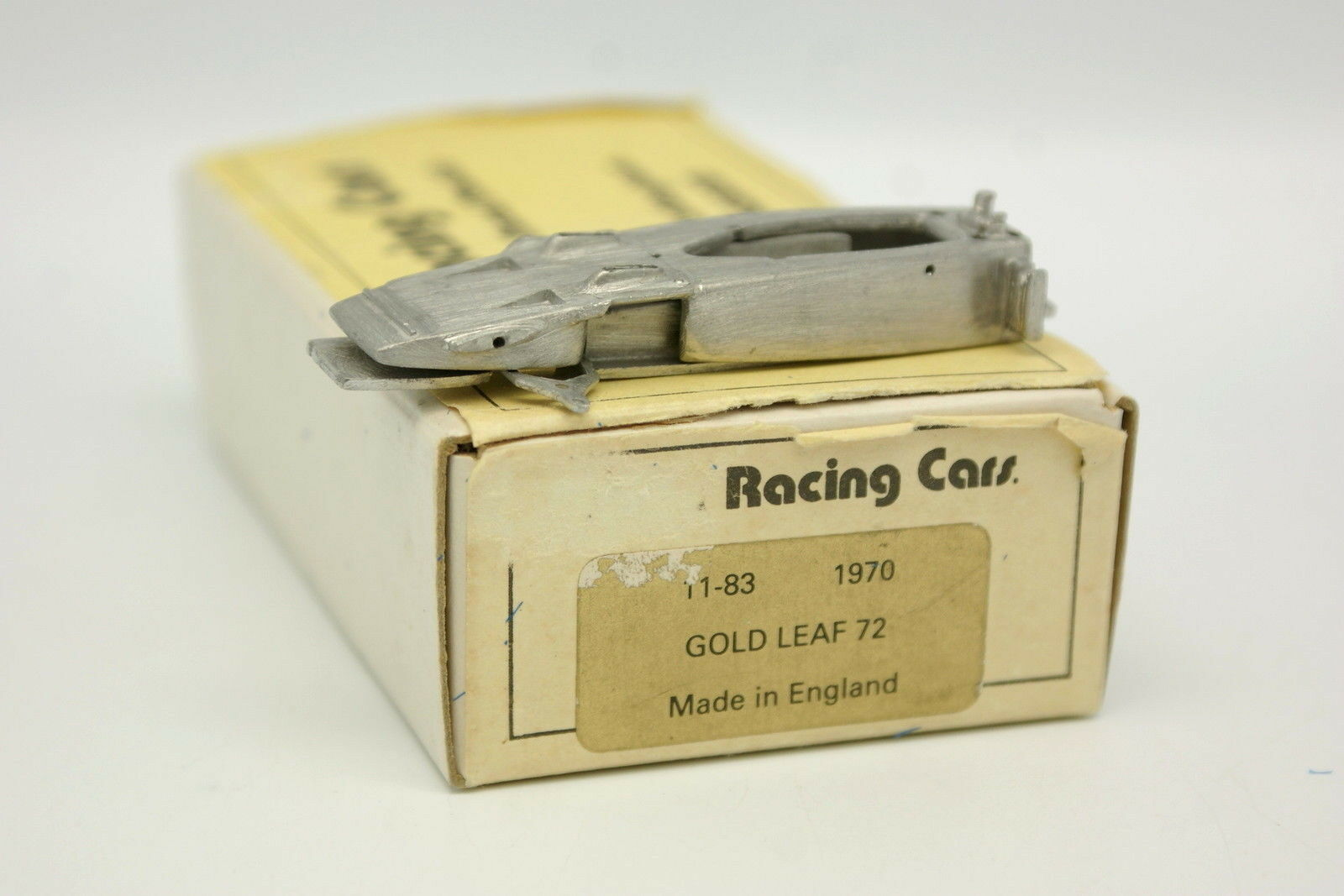 Scale Racing Cars Kit à monter White Metal 1 43 - F1 Lotus 72 gold Leaf 1970