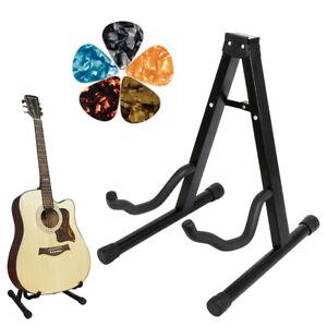 Trepied-pliable-guitare-Support-pour-Acoustique-Guitare-classique-avec-des-pics-par-kmise