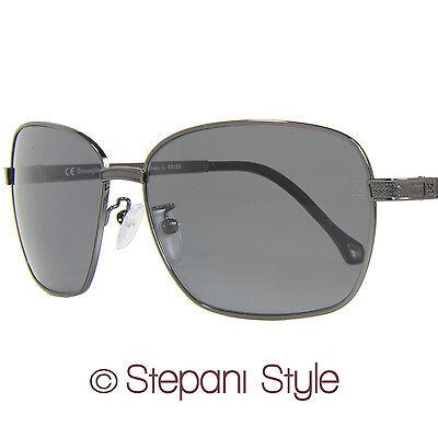 Ermenegildo Zegna Sunglasses SZ3301G 568P Gunmetal 3301 Polarized