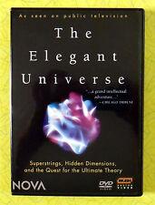 The Elegant Universe ~ 2-Disc DVD Set ~ Nova Public TV Science Physics Show
