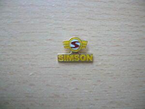 Pin-Simson-Abzeichen-Logo-Motorrad-Art-0554