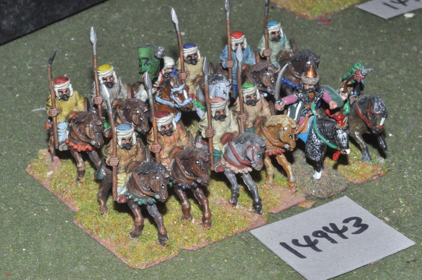 25mm medieval   turkish - seljuk cavalry 12 cavalry - cav (14943)