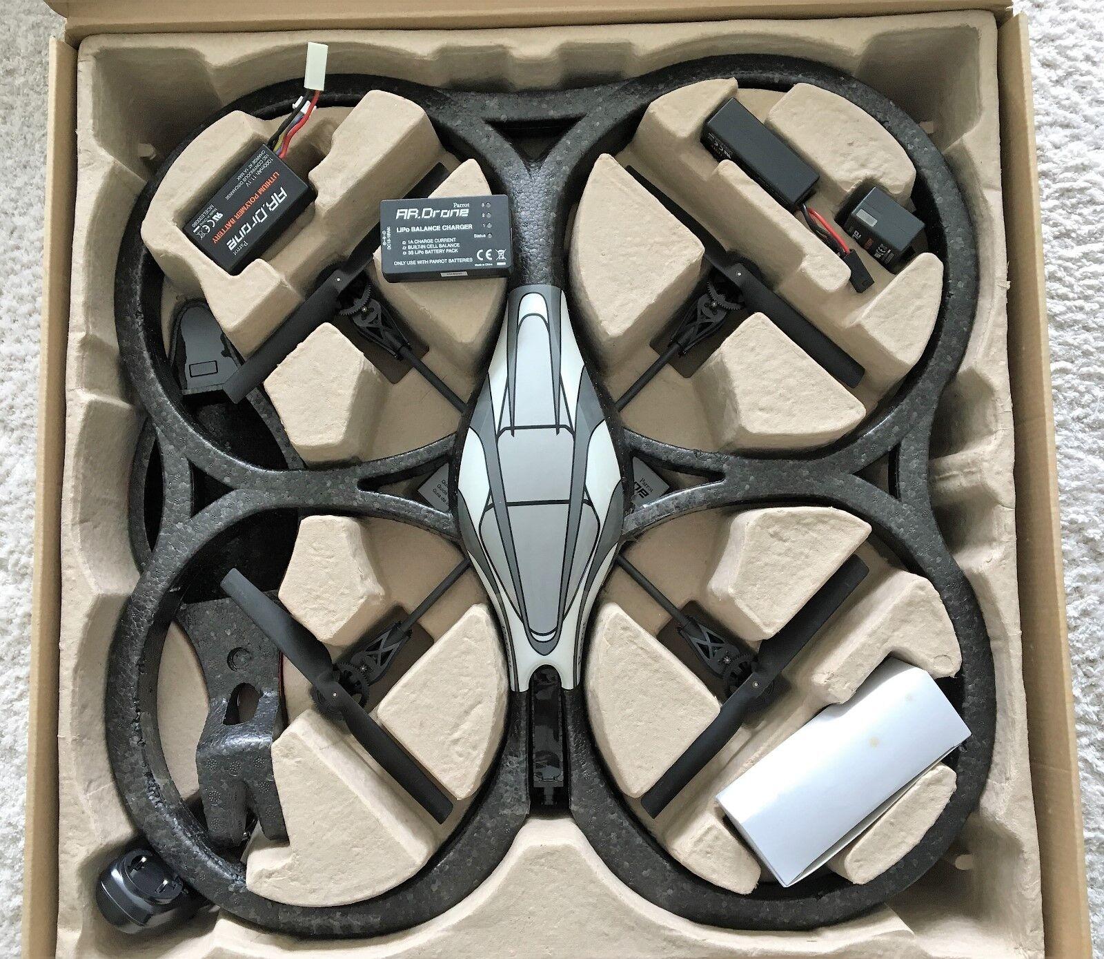 Parrosso AR. Drone 1.0 verde arancia Quadcopter Quadrocopter