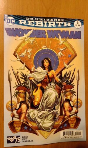 5 # 6 1st Print DC Wonder Woman Frank Cho Variant Vol