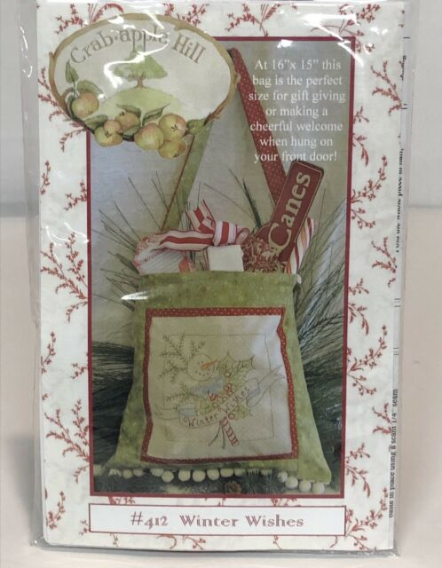 From Crabapple Hill Studio NEW FLOSS GARDEN WREATHS BLOCK 7 EMBROIDERY PATTERN