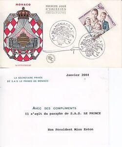 Monaco 1966 Prince Rainier III Autographed on Princess Stephnine039s 1st birthday - <span itemprop='availableAtOrFrom'>Halesworth, United Kingdom</span> - Monaco 1966 Prince Rainier III Autographed on Princess Stephnine039s 1st birthday - Halesworth, United Kingdom