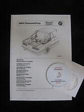 BMW E30 Cabrio Elektroverdeck (EM-Verdeck) Einbauanleitung