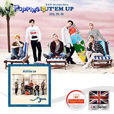 New B.A.P 5th single album PUT`EM UP  K-Pop CD Photobook