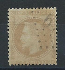 France-N-28A-Obl-FU-1867-Napoleon-III-laure