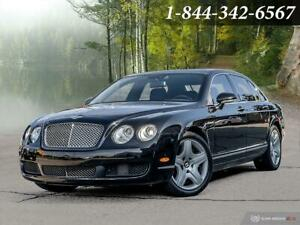 2006 Bentley Continental Flying Spur LOW KMS   CLEAN CARFAX   LOADED