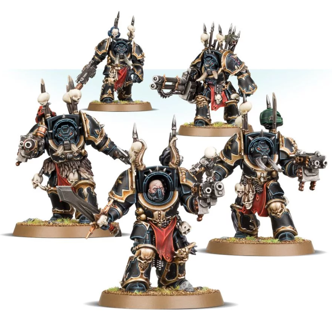 Chaos Marines Terminators Any Legion  Commission Superbly Painted Warhammer 40K  acheter en ligne