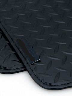 Analytisch 5mm Heavy Duty Rubber Car Mats For Audi A6 Rs6 97-04 - Black Leather Trim Bright Luster