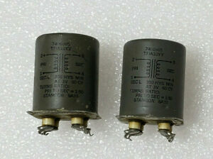 NOS-Brand-New-Pair-Stancor-1-50-StepUp-Potted-Transformers-MC-MM-MIC-Input-Phono