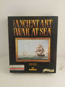 The-Ancient-Art-Of-War-At-Sea-Broderband-Apple-II-Computer-Game-1989