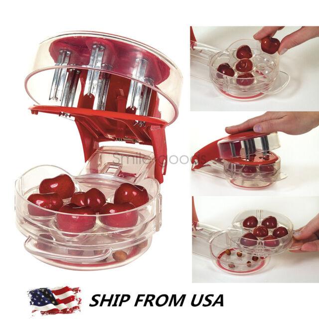 Prepworks by Progressive Cherry Pitter - 6 Cherries, New, Free Shipping