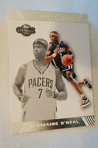 NBA-CARD-Topps-Co-Signers-Series-Jermaine-O-039-Neal-Pacers