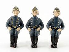 3 Stück Feuerwehrfiguren Replika zu Schuco Feuerwehr 6080