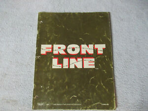 FRONT-LINE-TAITO-arcade-game-manual