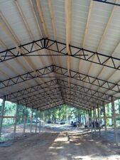 11 40 Steel Trusses Pole Barn For A 40x100 Pole Barn