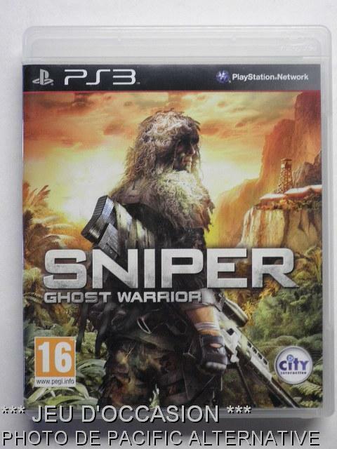 jeu SNIPER GHOST WARRIOR pour PS3 playstation 3 francais game spel juego gioco