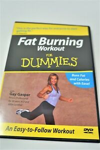 fat burning workout for dummies dvd 2005 with gay